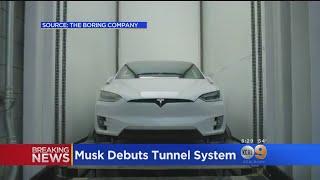 بالفيديو.. إيلون موسك يكشف عن القسم الأول من شبكة سيارات عالية السرعة تحت الأرض