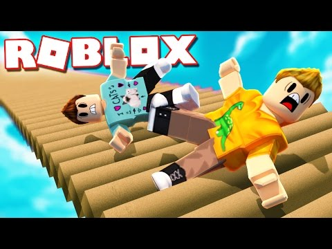 CAN YOU SURVIVE FALLING DOWN THE STAIRS IN ROBLOX!?