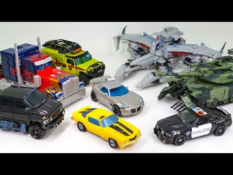 Transformers 2007 Optimus Prime Megatron Brawl Ratchet Ironhide Bumblebee Jazz Barricade Car Toys