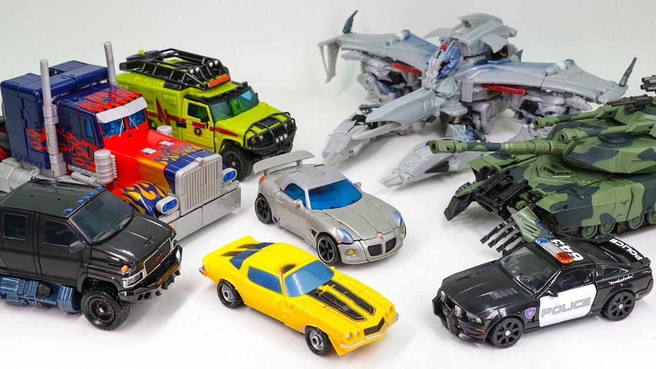Transformers 2007 Optimus Prime Megatron Brawl Ratchet ...