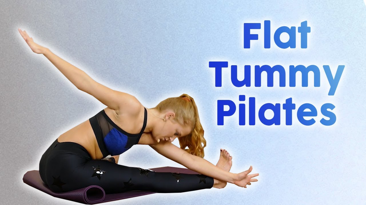 Pilates Exercises for Flat Abs, Core Strength & Low Back Stability, 30 Minute Workout