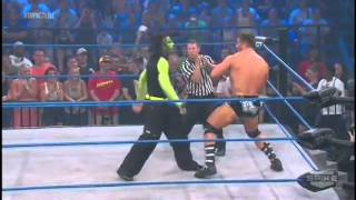 Jeff Hardy vs Robbie T - Impact 23/8/2012