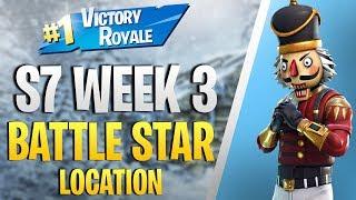 Secret Battle Star Location (Season 7 Week 3 Challenge) | Fortnite