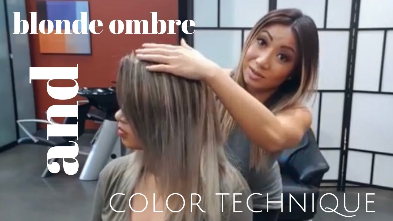Blonde Ombre And COLOR Technique YouTube