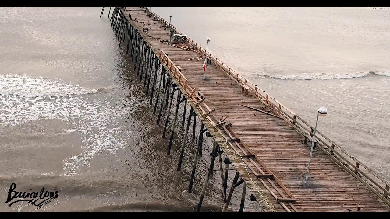 Hurricane Dorian Destroys Kure Beach Pier