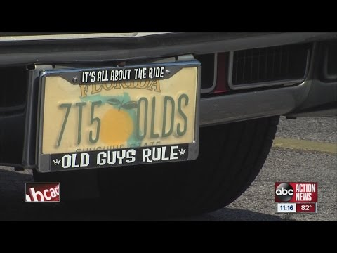 Dozens of vanity license plates found to be too offensive for Florida roadways