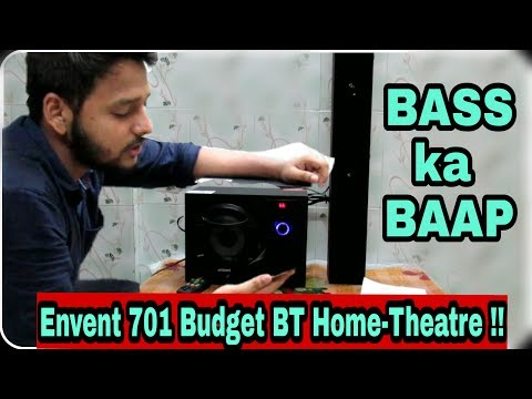 Envent 701 Budget Bluetooth Home-Theatre || Baas kaa Baap ||