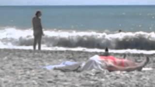 Немного пляжной эротики)