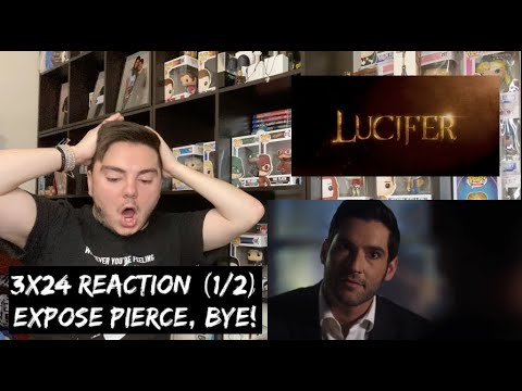 LUCIFER - 3x24 'A DEVIL OF MY WORD' REACTION (1/2)