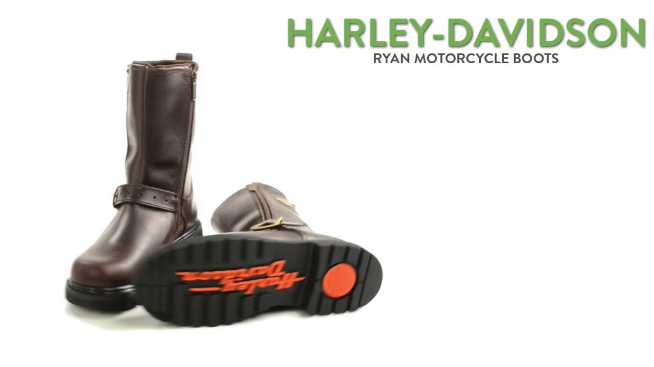 "bf464be4f55 Harley-Davidson Ryan Motorcycle Boots - Leather, 10"" (For Men)"