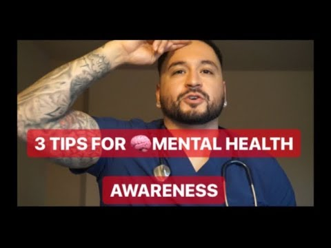 3 TIPS for Mental Health Awareness