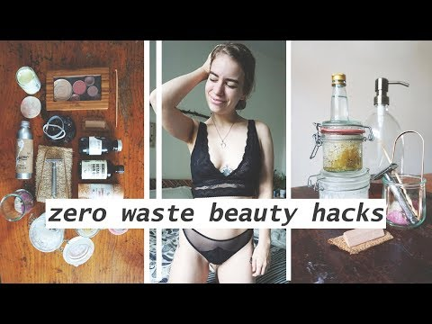 20 ZERO WASTE BEAUTY TIPS // Skin, Hair, Makeup, Nails & Teeth