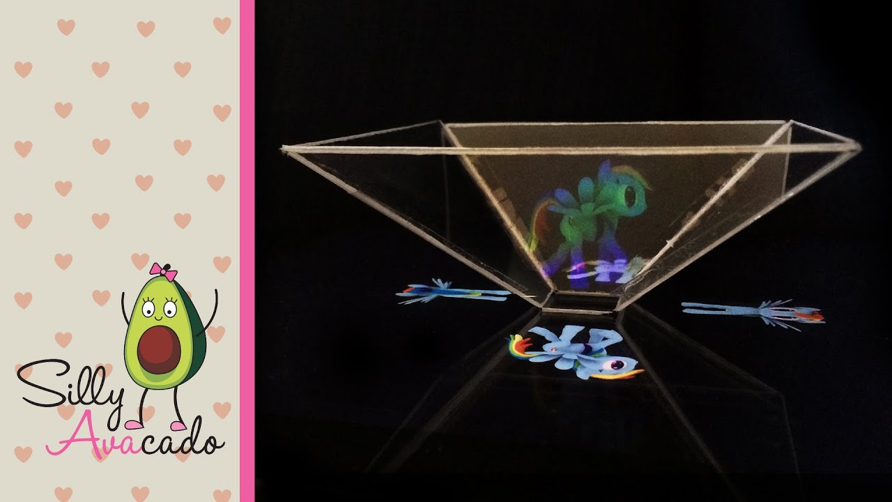 3d phone hologram template  Make 3D Pyramid Hologram w/ iPad
