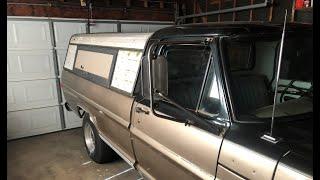 1970 F250Truck camper shell
