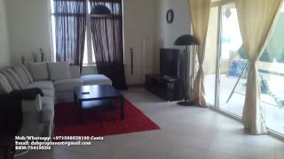 Fully Furnished 3 bedroom - for Rent- Shoreline Palm Jumeirah