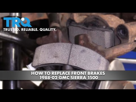 How to Replace Front Brakes 1988-02 GMC Sierra 1500