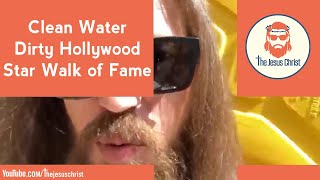Clean Water, Dirty Hollywood, Star Walk of Fame #WorldWaterDay