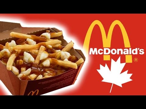 Trying Canadian McDonald's