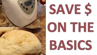 SAVE MONEY WITH A BREADMAKER | Bread machine review