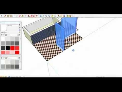 tekenen verbouwing sketchup - YouTube