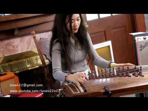 Pink Floyd-Time, Comfortably Numb Gayageum,Piano Duo ver. by Luna And Jungmun