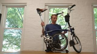 Brompton Upgrades, Review, Fold and Unfold, Waterbottle tips