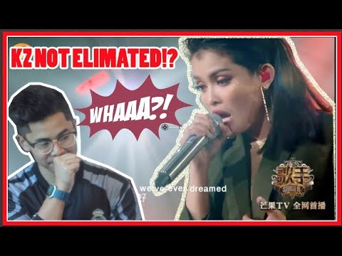 """(MUST SEE) KZ Tandingan《Royal》 """"Singer 2018"""" Episode 9 BEST REACTION! KZ BACK FROM BEING ELIMINATED!"""