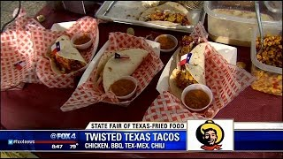 State Fair Foods: Twisted Texas Taco