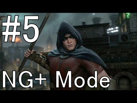 Batman: Arkham City Remastered | Part 5 - Tracking Ra's | New Game Plus Walkthrough Playthrough