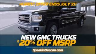 Deacon Jones Buick/GMC's $5000 Promise