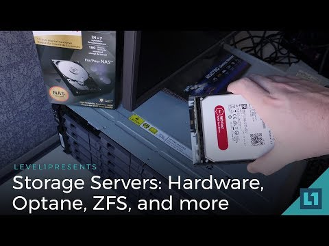Storage Server Update: Hardware, Optane, ZFS, And More!