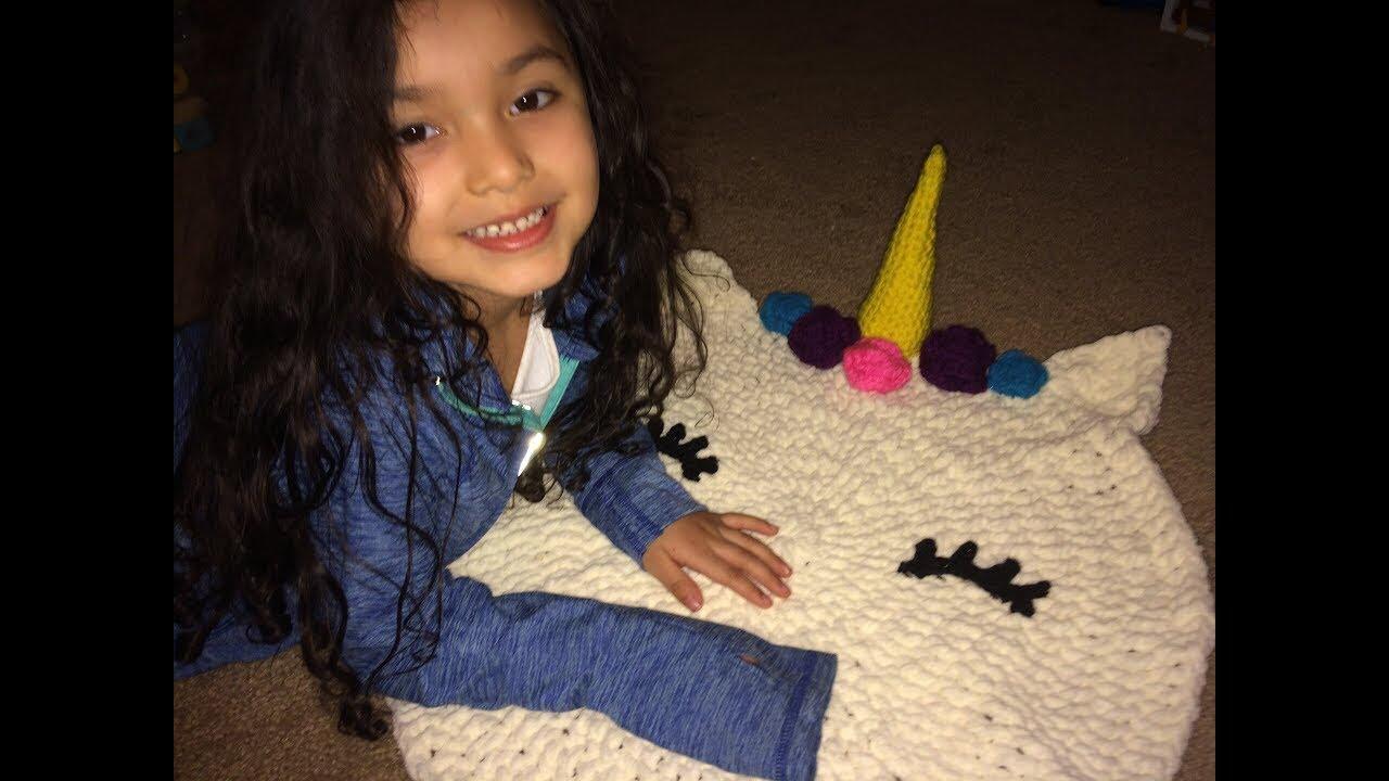 How to crochet a Unicorn rug part 1