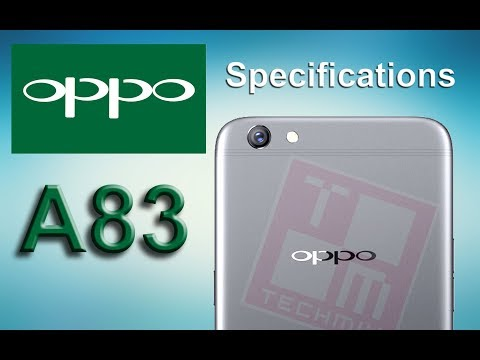 Oppo A83 Full Specifications and Review in 1 minute