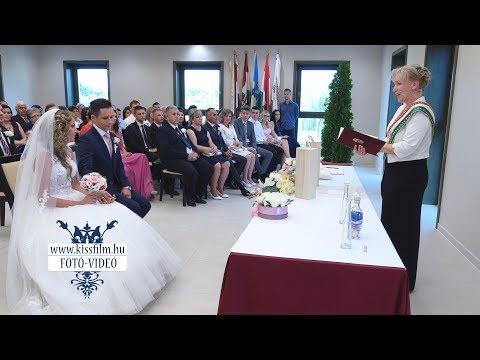 Petra és Bence esküvője az Unió étteremben, Nyíregyháza, Kemecse/KISSFILM.HU