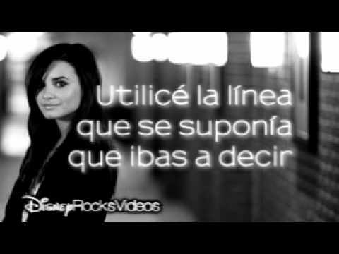 Demi Lovato - Falling Over Me (letra español)