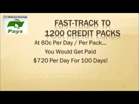 How To Get My Advertising Pays To 1200 Credit Packs