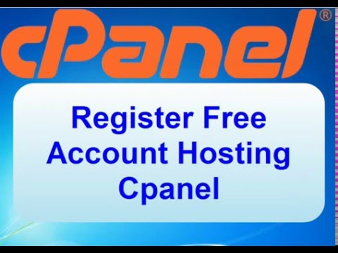 Free Register Account Hosting Cpanel