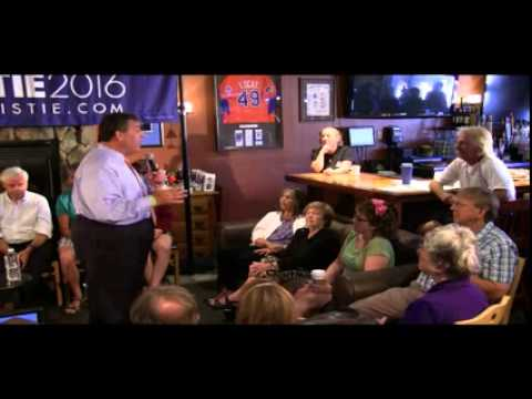 Chris Christie #TellingItLikeItIs Town Hall, North Conway, NH