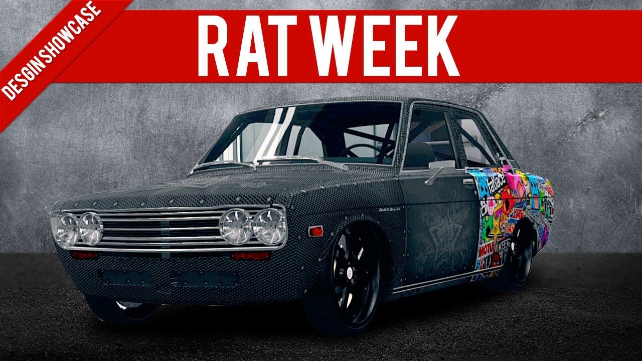 Sticker bomb car design - Forza Horizon Design Showcase Sticker Bombed Rat