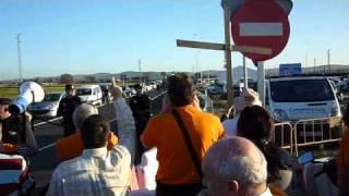 Pitada a dos ministros y una Consejera del PSOE. 14/01/2011