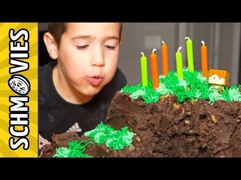 Minecraft Birthday on Shabbat! 🎮