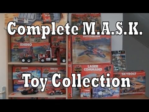 M.A.S.K. Complete Toy Collection (Kenner MASK)