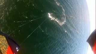 Angel  kitesurfing. Girl kite Racing video. Кайтсерфинг  Одесса. GoPro HD