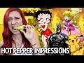 HOT PEPPER IMPRESSIONS CHALLENGE (bad idea)