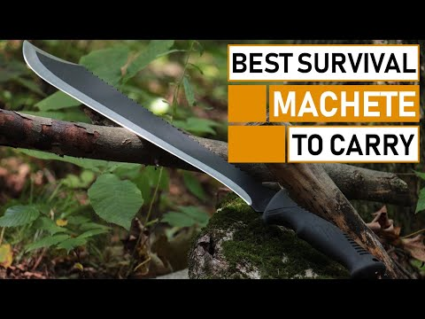 Top 5 Best Survival Machete To Carry In The Wood