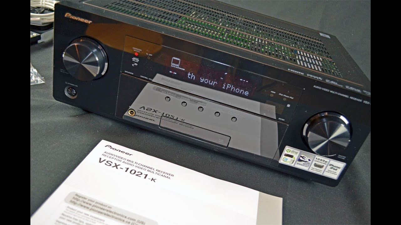 Pioneer VSX-1021-K Home Theater A/V Receiver: Review