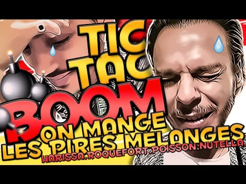 Tic Tac Boom challenge: N'IMPORTE QUOI dans la BOUCHE !