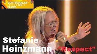 Stefanie Heinzmann - RESPECT (Aretha Franklin) + Interview - Live @ Gottschalks große 68er Show