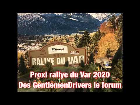 Proxi rallye du Var 2020 des GentlemenDrivers le forum (Slot,jouef,carrera,scalextric,artin,circuit)
