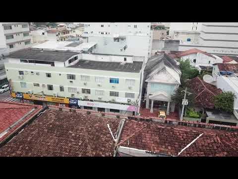 Substituição do telhado hospital São João Batista